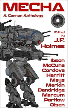 Mecha Anthology Cover