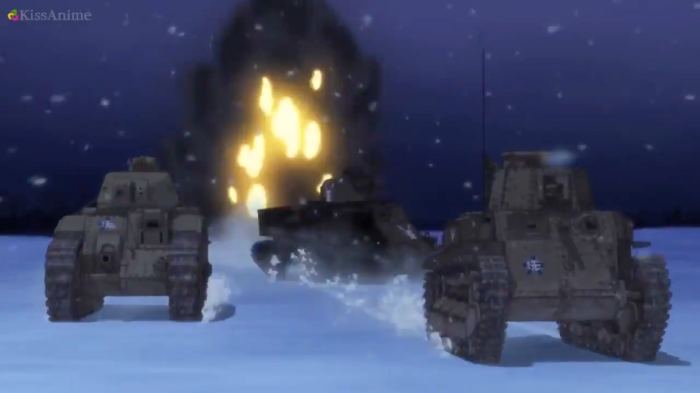 Girls Und Panzer Episode 9 Screenshot (40)