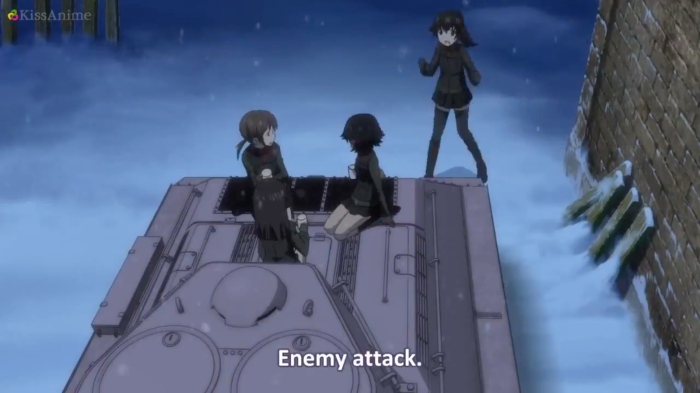 Girls Und Panzer Episode 9 Screenshot (41)
